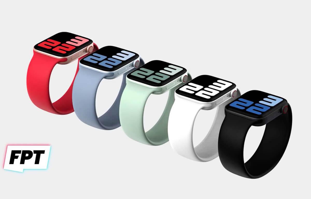 Plochý a hranatý dizajn pri nových Apple Watch 7