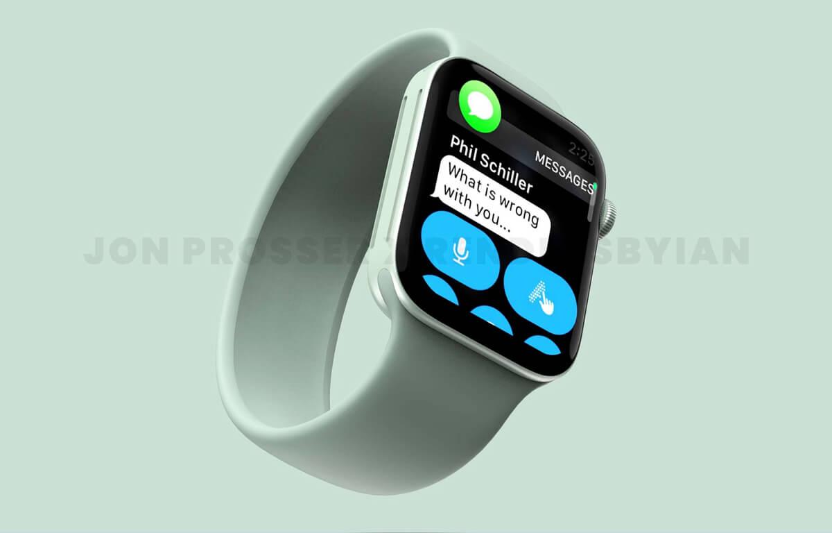 Nová zelená farba smart hodiniek Apple Watch 7