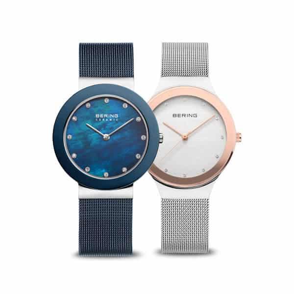 Čisté a jemné - také sú minimalistické dámske hodinky Bering