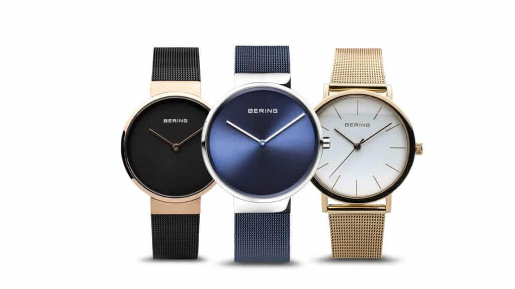 Jemné minimalistické dámske hodinky Bering