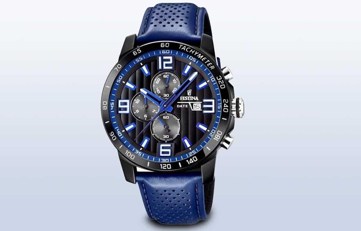 Lacné športovo-elegantné hodinky Festina