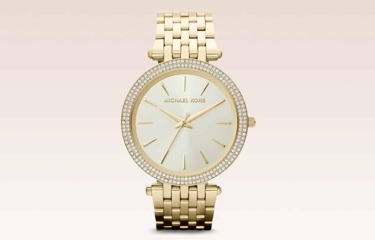 Zlaté dámske hodinky Michael Kors MK3190 z edície Darci