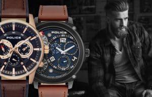 Pánske hodinky Police - história značky a modely