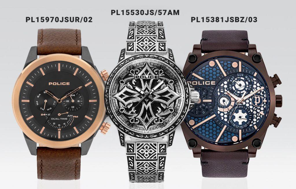 Pánske hodinky Police - modely