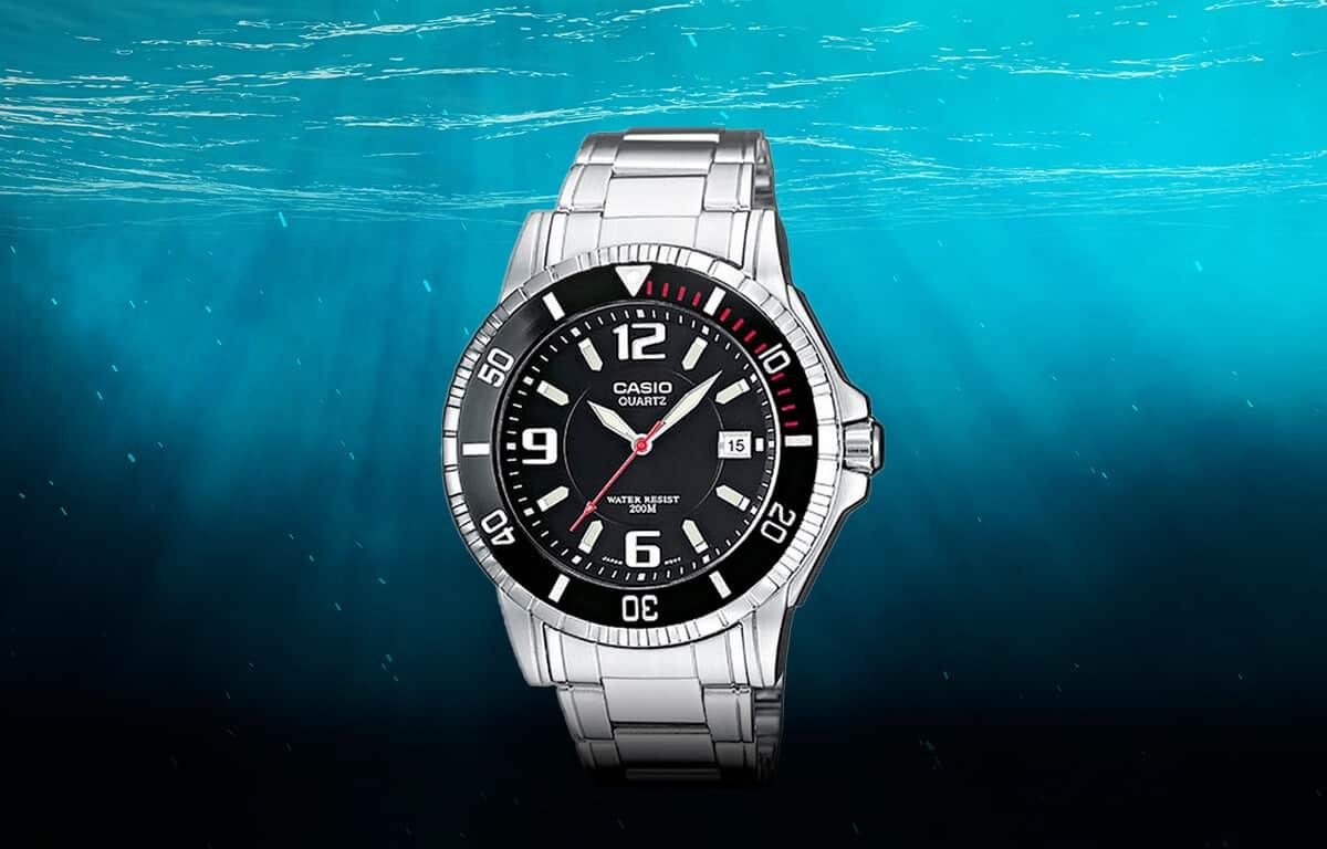Lowcost model potápačských hodiniek od Casio (MTD-1053D-1AVES)