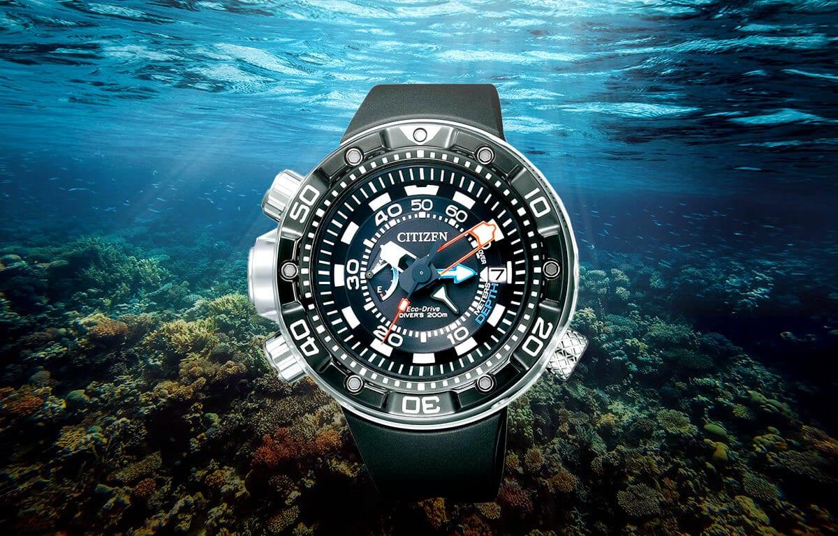 Potápačské hodinky Citizen BN2024-05E s robustným puzdrom