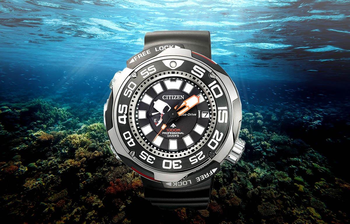 Profesionálne potápačské hodinky Citizen BN7020-09E