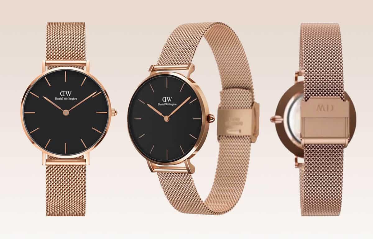 Lacné dámske hodinky Daniel Wellington