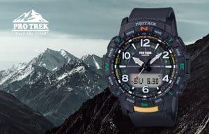 Lacné hodinky Casio Pro Trek SGW-100-1VEF