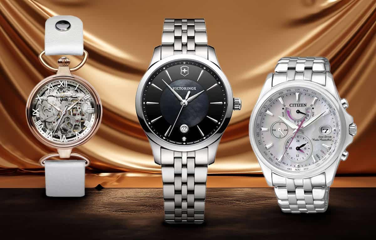 Dámske luxusné hodinky značiek Zeppelin, Victorinox a Citizen