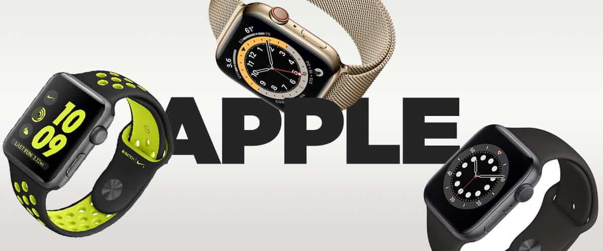 Smart hodinky Apple - prehľad dostupných modelov