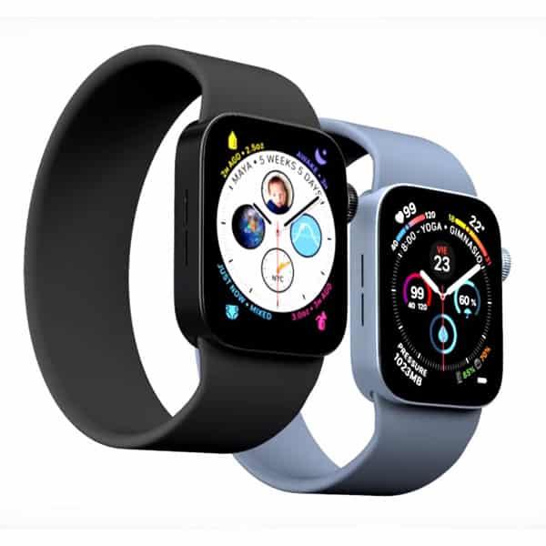 Prídu Apple Watch 7 s hranatým dizajnom a v nových farbách?