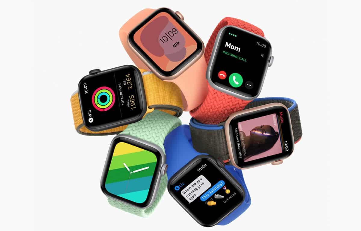 Farebné prevedenia Apple Watch SE