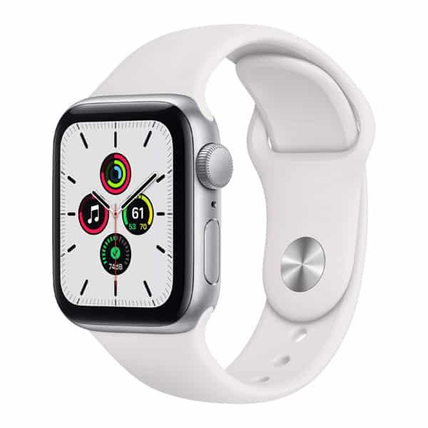 Biele hodinky Apple Watch SE verzia 40mm