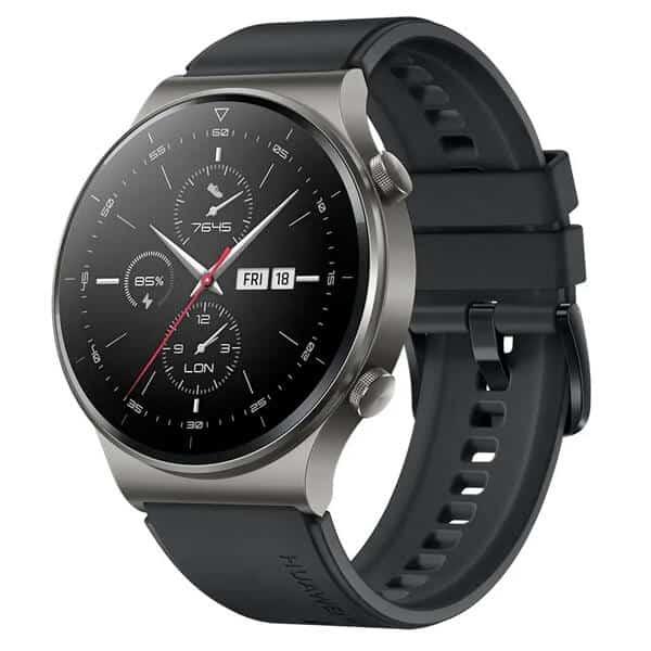 Čierne smart hodinky Huawei Watch GT 2 Black Pro