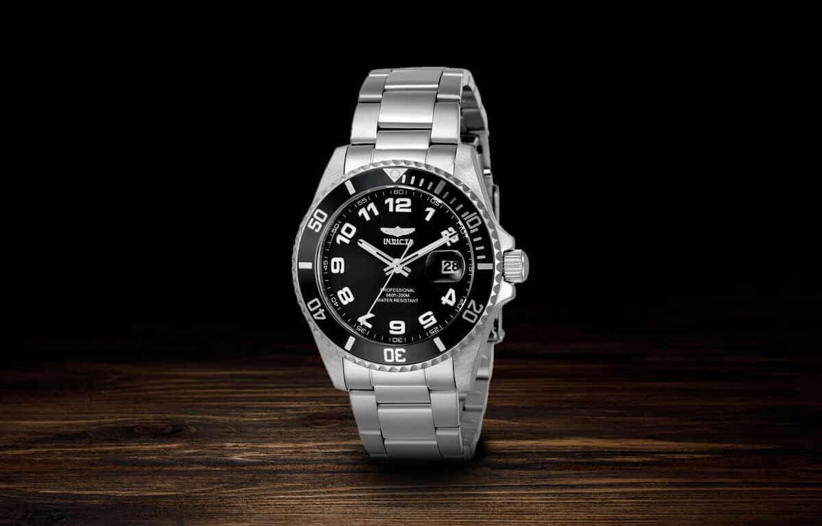 Strieborné dámske hodinky Invicta Pro Diver