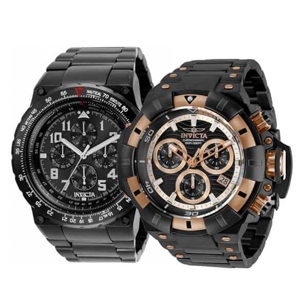 Pánske hodinky Invicta - edície Aviator a Akula