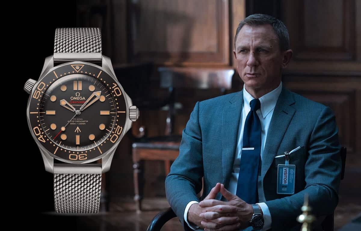 Slávne pánske hodinky Omega sa ocitli aj vo filmoch o agentovi Jamesovi Bondovi