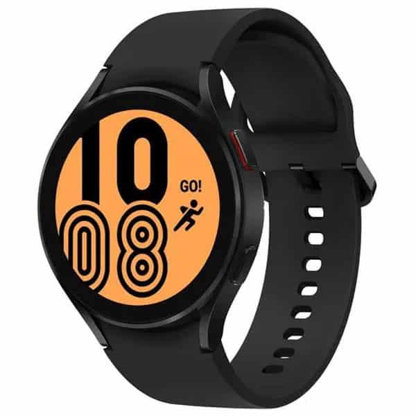 Čierne smart hodinky Samsung Galaxy Watch 4