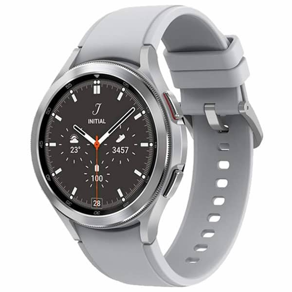 Strieborné Samsung Galaxy Watch 4 Classic
