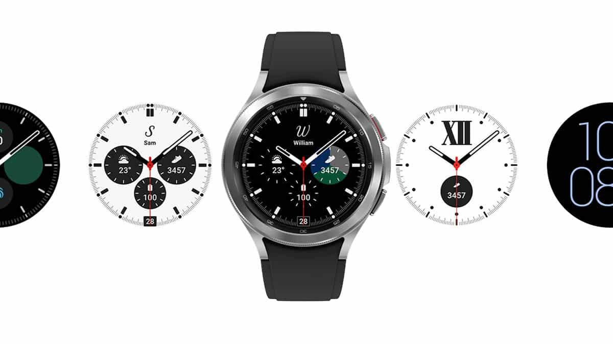 Samsung Galaxy Watch 4 Classic a nekonečné možnosti zobrazenia času