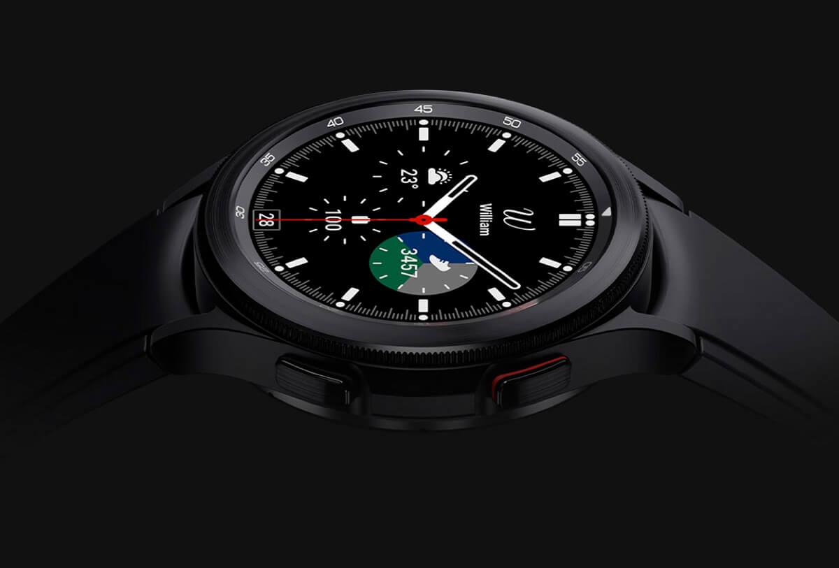 Samsung Galaxy Watch 4 Classic dizajn