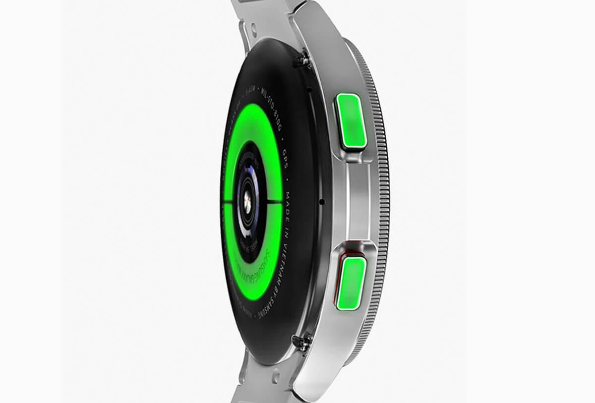 Senzor na najnovších hodinkách Galaxy Watch 4 Classic
