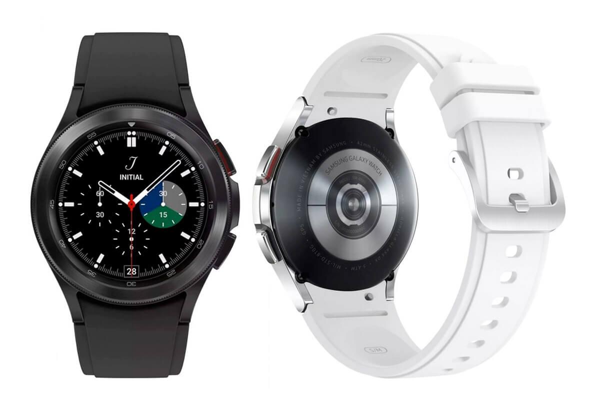 Obe farebné vyhotovenia nových Samsung Galaxy Watch 4 Classic