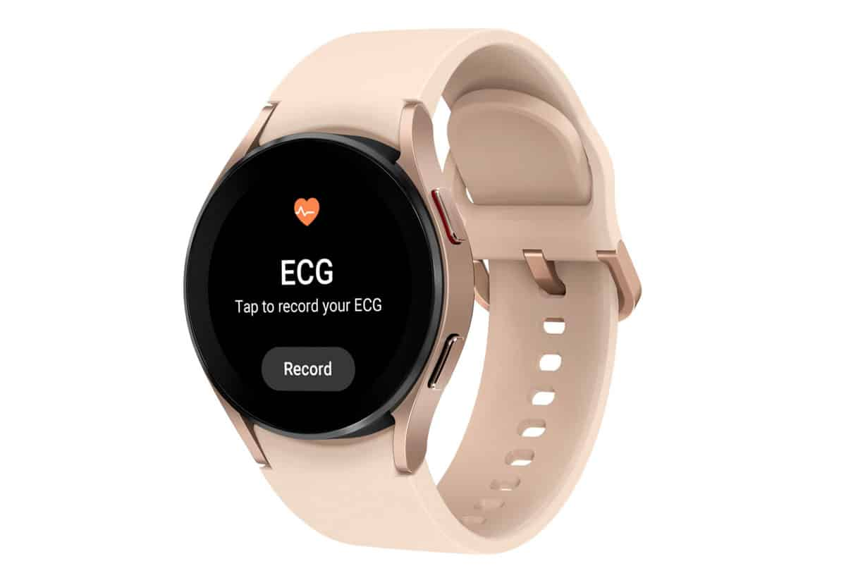 Samsng Galaxy Watch 4 má pokročilú funkciu EKG