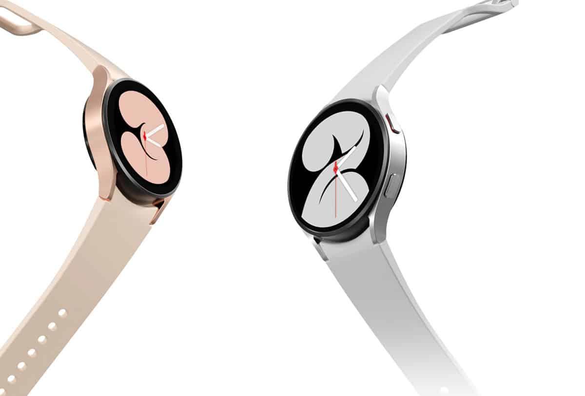 Samsng Galaxy Watch 4 - Pink Gold a Silver