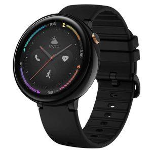 Čierne smart hodinky s kompaktnými rozmermi - Amazfit Nexo Black