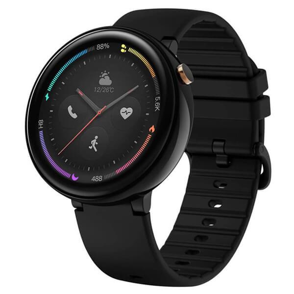 Čierne smart hodinky Amazfit Nexo