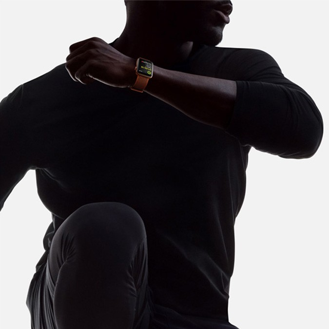Inteligentné hodinky Apple Watch Series 3 pri športe