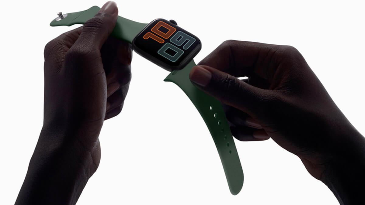 Inteligentné hodinky Apple Watch Series 5 prinášajú možnosť jednoduchej výmeny náramku