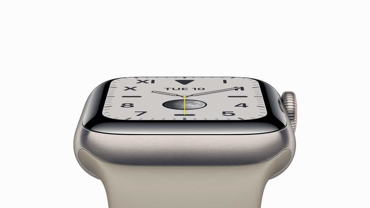 Inteligntné hodinky Apple Watch Series 5 môžu mať telo vyrobené z titánu