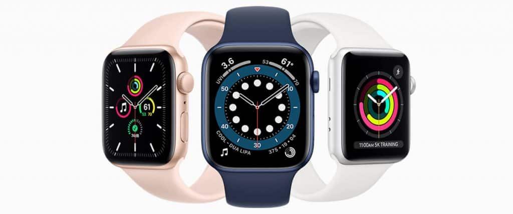 Inteligentné hodinky Apple Watch 6