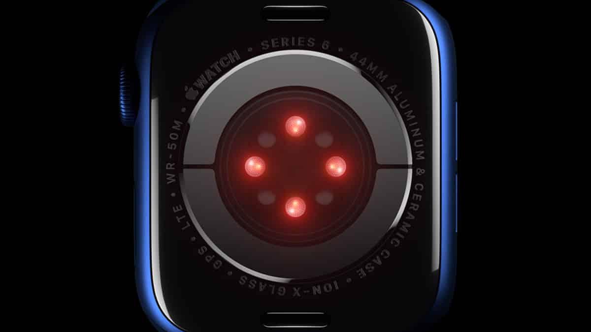 Apple Watch Series 6 - senzor