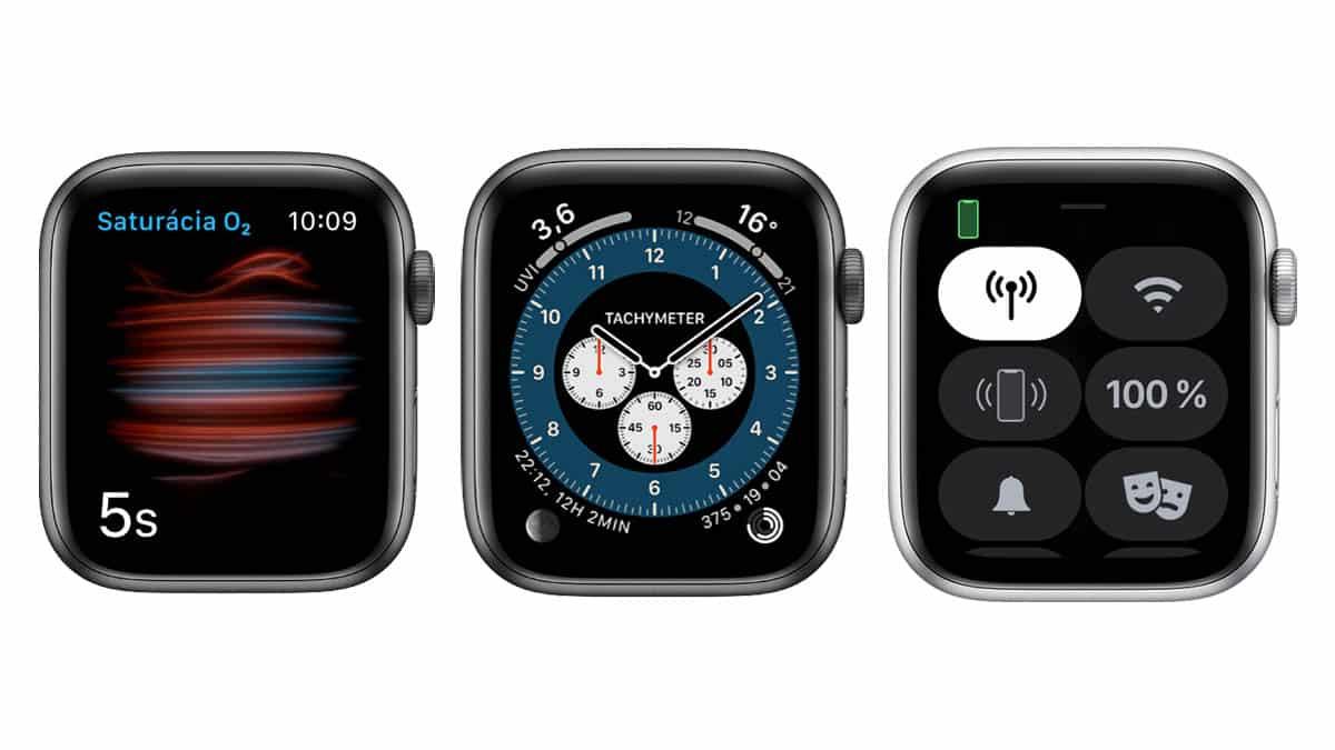 Apple Watch 6 - ciferníky
