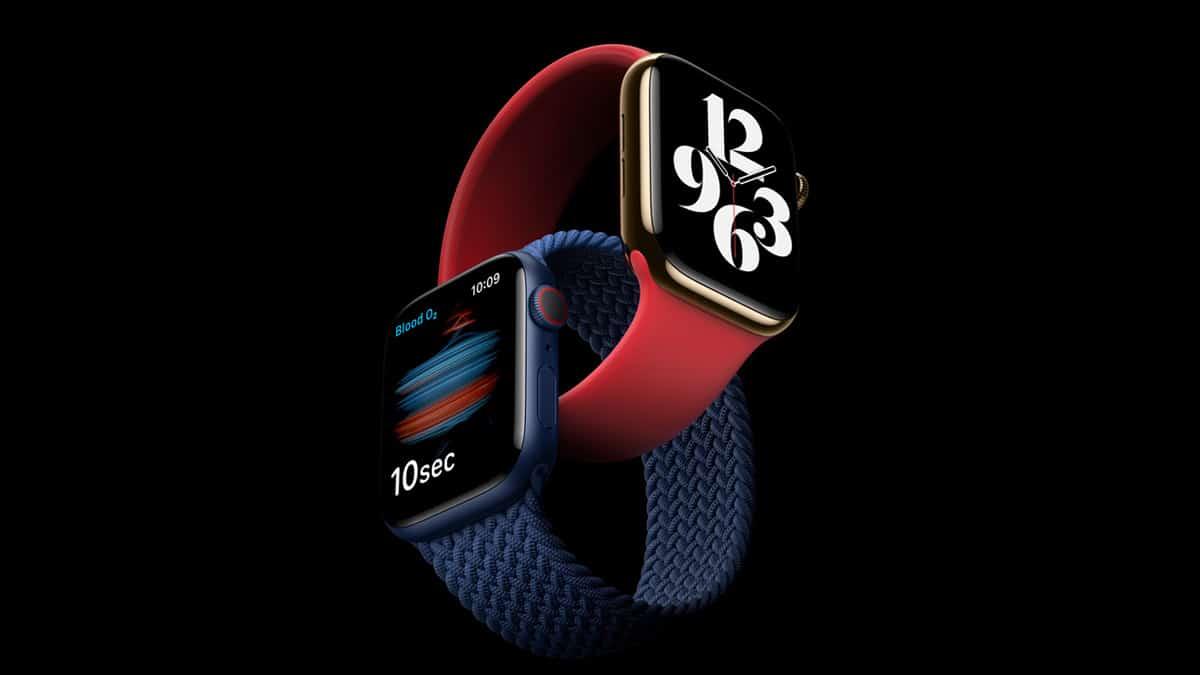 Apple Watch 6 - nové farby