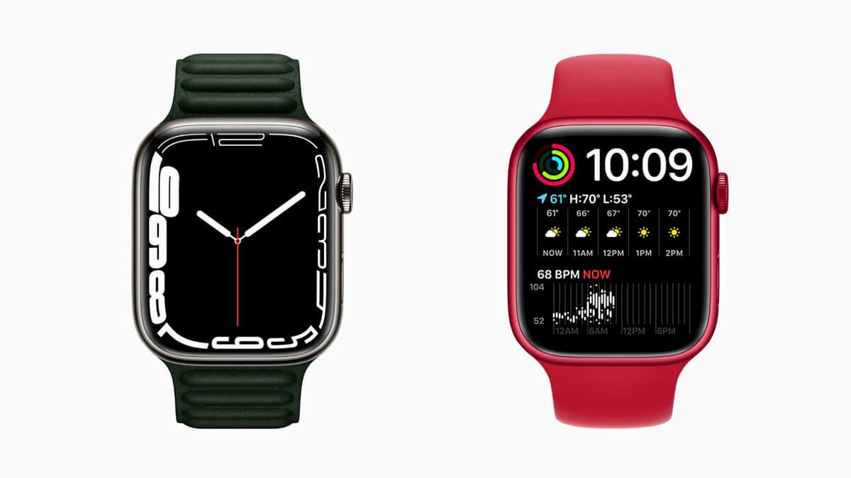 Apple Watch 7 v zelenej a červenej verzii