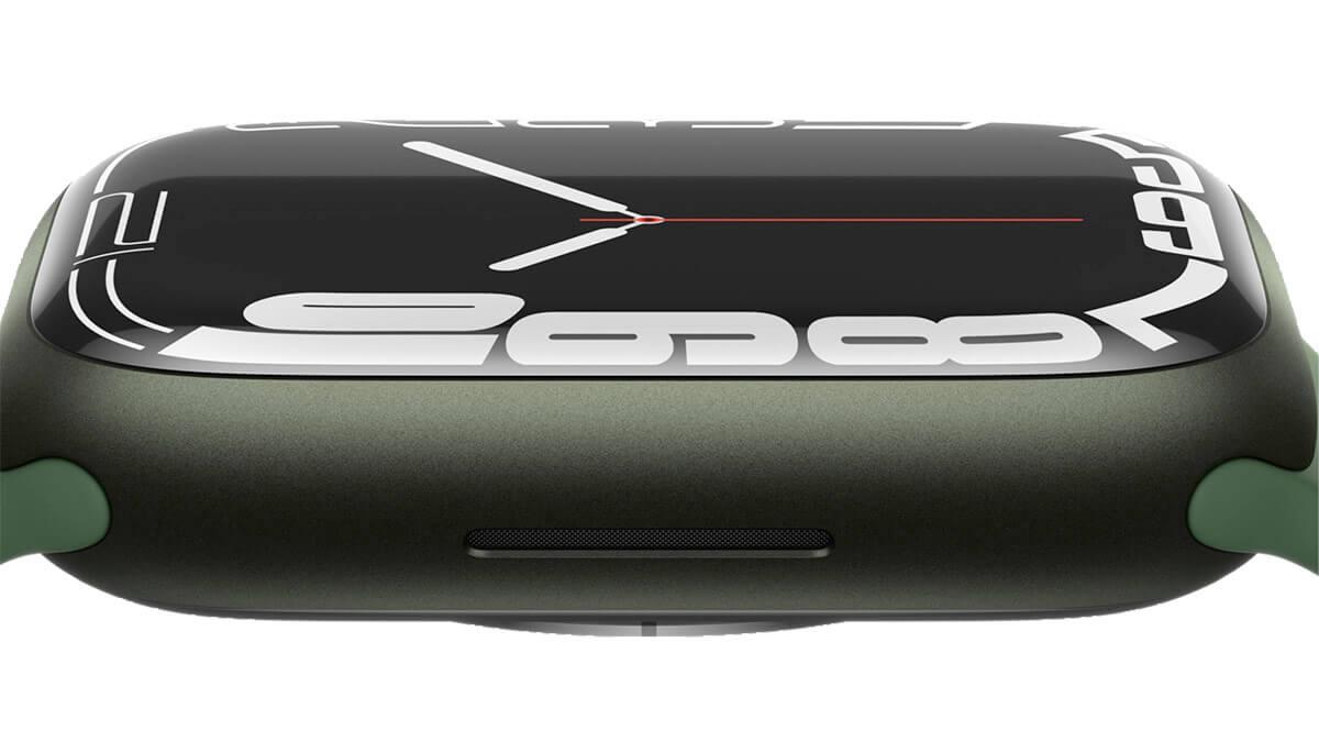 Nové zelené farebné prevedenie Apple Watch 7
