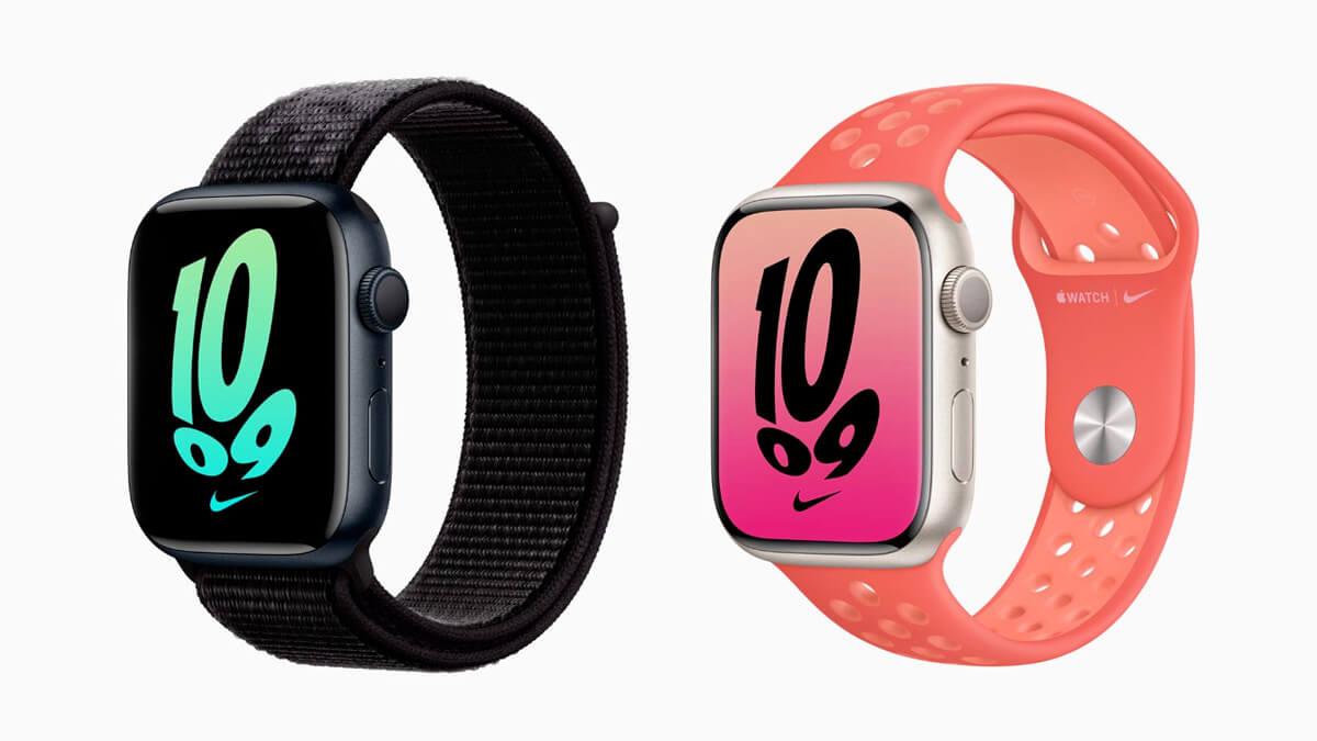Apple Watch 7 Nike series