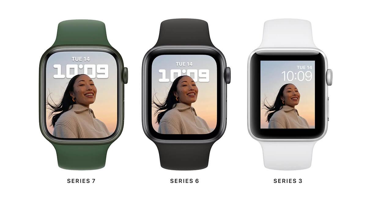 Displej nových Apple Watch 7 sa zväčšil