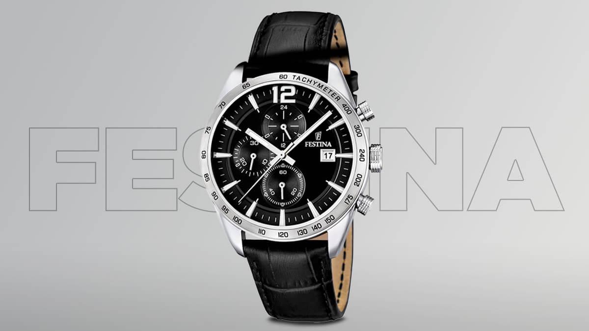Lacné pánske hodinky Festina Chrono