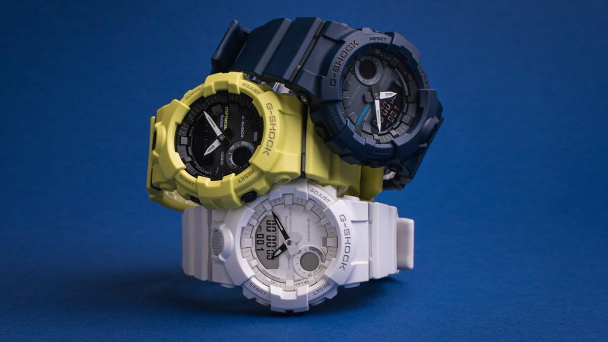 Značka Casio a jej modely G-Shock s gumenými remienkami