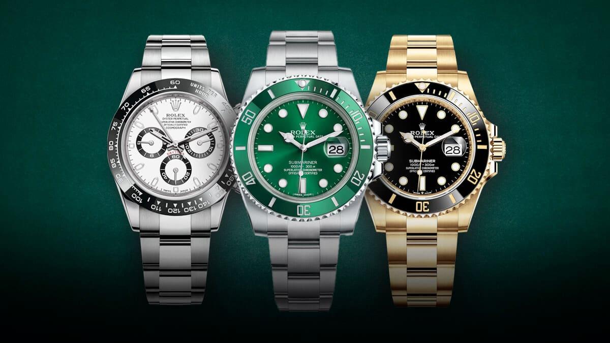 Legendárne hodinky Rolex