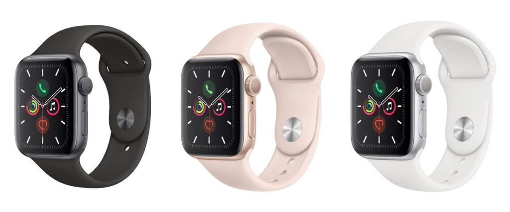 Apple Watch 5 - Space Gray, Gold, Silver