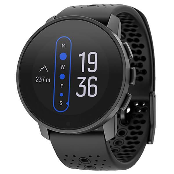 Športové smart hodinky Suunto v čiernom prevedení
