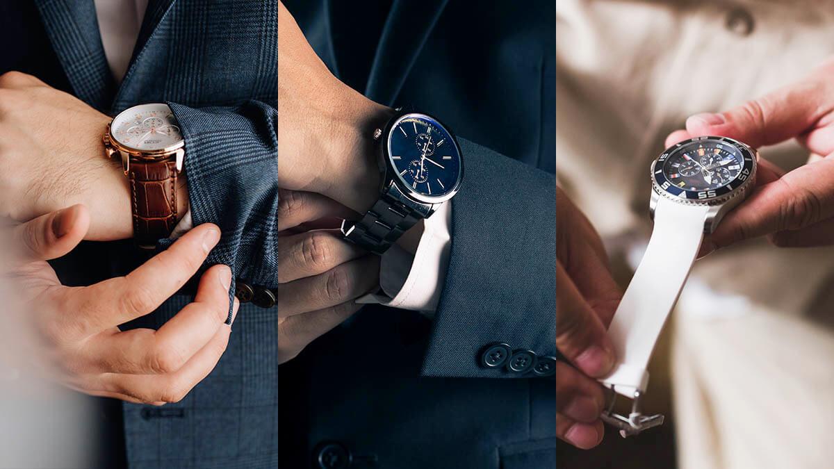 Poznáte všetky druhy remienkov na hodinky?