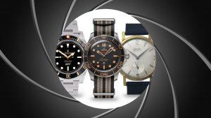 Predstavujeme značky hodiniek, ktoré sa objavili vo filmoch o Jamesovi Bondovi